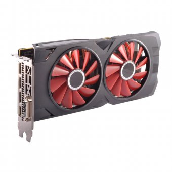 Placa de Vídeo Xfx Amd Radeon Rx 570 4gb Gddr5 Pci Express 3.0 Graphics Card - Black