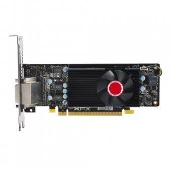PLACA DE VÍDEO XFX RX 550 4GB DDR5 1203MHZ LOW PROFILE DVI DP HDMI RX-550P4LFG5