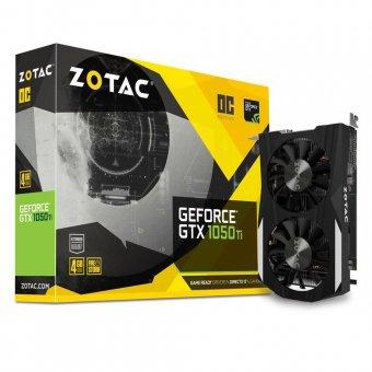 Placa de Vídeo Zotac Geforce Gtx 1050 Ti Oc 4gb Zt-p10510b-10l Gddr5 Pci-exp
