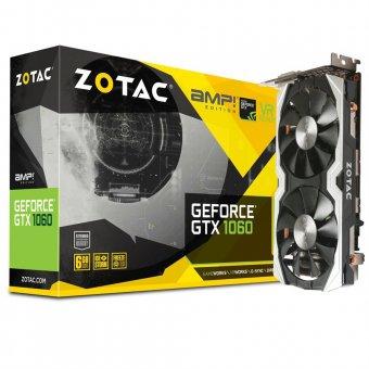 Placa de vídeo Zotac GTX 1060 AMP 6GB GDDR5 ZTP10600B10M