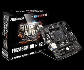 Placa mãe (Amd) AsRock FM2A68M-HD DDR3 FM2+