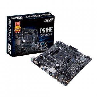 Placa Mãe (Amd) Asus Prime A320M-K/BR DDR4 AM4