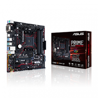 Placa Mãe AMD ASUS Prime B450M-Gaming/BR DDR4 AM4
