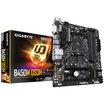 Placa Mãe (Amd) Gigabyte B450M DS3H DDR4 AM4
