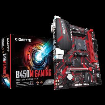 Placa Mãe (Amd) Gigabyte B450M Gaming DDR4 AM4