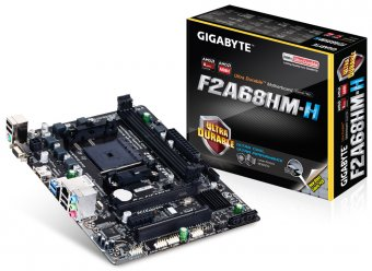 Placa Mãe (Amd) Gigabyte GA-F2A68HM-H DDR3 FM2+