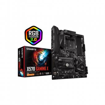 Placa Mãe AMD GIGABYTE X570 Gaming X RGB/Vega AM4 ATX DDR4 9MX57GMX-00-10