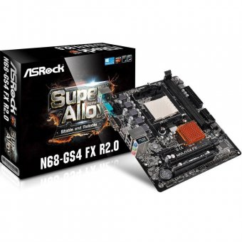 Placa Mãe ASRock p/ AMD AM3+ mATX N68-GS4 FX R2.0 DDR3