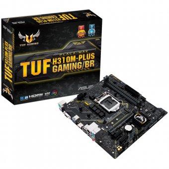 Placa-Mãe ASUS p/ Intel LGA 1151 mATX TUF H310M-PLUS GAMING/BR,2x DDR4 8ª Geração