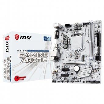 Placa-Mãe MSI H310M GAMING ARCTIC DDR4