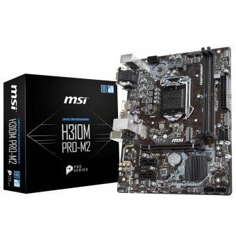 PLACA MÃE MSI H310M PRO-M2 DDR4 911-7B28-002
