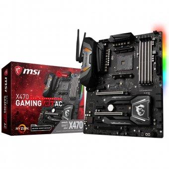 Placa-Mãe Msi P/ Amd Am4 X470 Gaming M7 Ac Ddr4