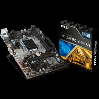 Placa-Mãe MSI p/ Intel LGA 1151 mATX H110M PRO-VH PLUS DDR4