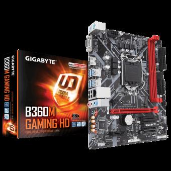 Placa Mãe P/ Intel Gigabyte B360m Gaming HD Ddr4 Coffee Lake