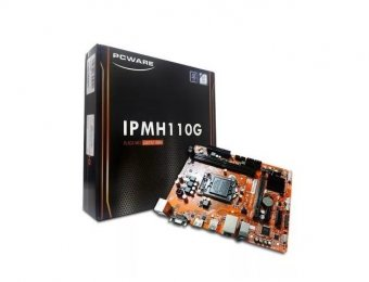 Placa Mãe Pcware Ipmh110g Ddr3 Gigabit Lga1151 USB 3.0 VGA/HDMI