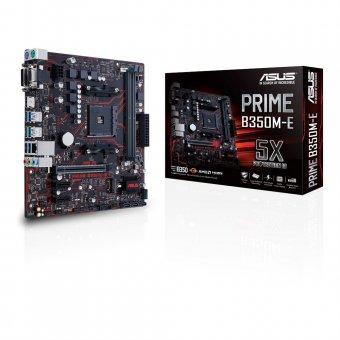 Placa Mãe Prime B350m-e Am4 Micro Atx Ddr4 90-mb0tw0-m0eay0 Asus