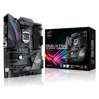 Placa Mãe Rog Strix Z370-f Gaming Lga 1151 Atx Ddr4 90-mb0v50-m0eay0 Asus
