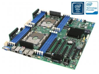Placa Mãe Servidor Intel S2600STB Dual Xeon DDR4 LGA3647