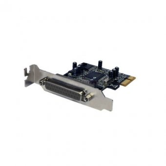 Placa Pci Express Flexport Com 1 Paralela F2212hw Low Profile