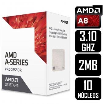 Imagem - Processador Amd A8-9600 3.4GHZ 2MB Cache AM4 - AD9600AGABBOX