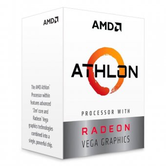 Processador Amd Athlon 200GE 3.2GHZ 4MB Cache AM4 - YD200GC6FBBOX