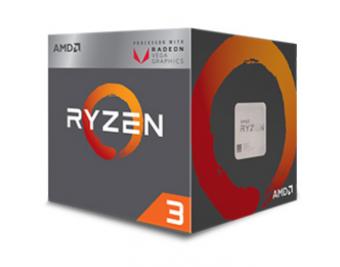 Processador AMD Ryzen 3 2200G, Quad Core, Cache 6MB, 3.5GHz (3.7GHz Max Turbo), VEGA, AM4 - YD2200C5FBBOX
