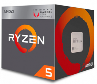Processador Amd Ryzen 5 2400g Quatro Núcleos Cache 6mb 3.6ghz Am4