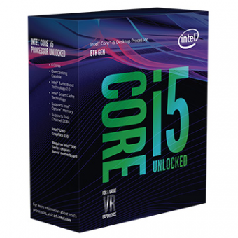 Processador Core i5-8400 2.80GHz Cache 9MB Socket LGA1151 8°G Coffee Lake