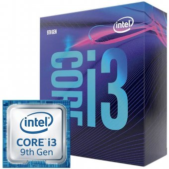 Processador Intel Core i3-9100F Coffee Lake, Cache 6MB, 3.6GHz (Max 4.2GHz)