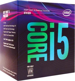 Processador Intel Core I5-8400 Coffee Lake 8a Geração, Cache 9mb, 2.8ghz (4.0ghz Max Turbo)