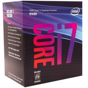 Processador Intel Core i7-8700 Coffee Lake 8a Geração, Cache 12MB, 3.2GHz BX80684I78700