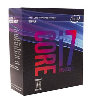 Processador Intel Core I7-8700k 8a Geração Cache 12mb, 3.7ghz (4.7ghz) Lga 1151