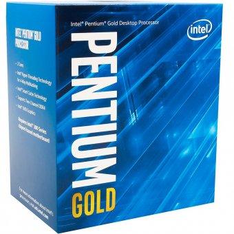 Processador Intel Pentium Gold G5400 Coffee Lake 8a Geração, Cache 4MB, 3.7Ghz BX80684G5400