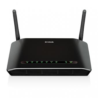 Roteador D-Link DSL-2740E/BR Modem ADSL2+ 4 Router Wireless