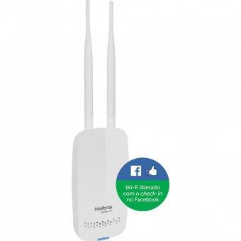 Roteador Wireless Intelbras Hotspot 300 c/ check-in no Facebook