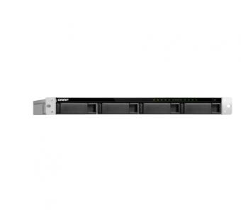 Servidor de Dados Nas Rack 1U Intel Core I3-8100 Quad Core 3.6 GHZ 4Gb Ddr4 Fonte Redundante - TVS-972XU-RP-I3-4G-US Qnap