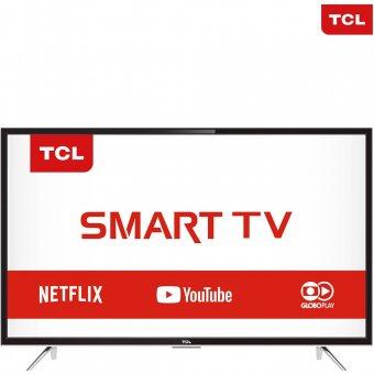 Smart TV LED 39'' TCL L39S4900FS Full HD com Conversor Digital 3 HDMI 2 USB Wi-Fi