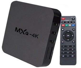 Smart Tv Ott Box Android Tv Quad Core Mxq 4k