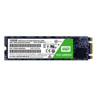 SSD M.2 2280 WD GREEN 120GB SATA 3 3D - WDS120G2G0B