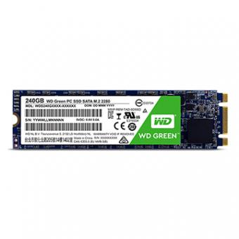 SSD M.2 2280 WD GREEN 240GB SATA 3 3D - WDS240G2G0B