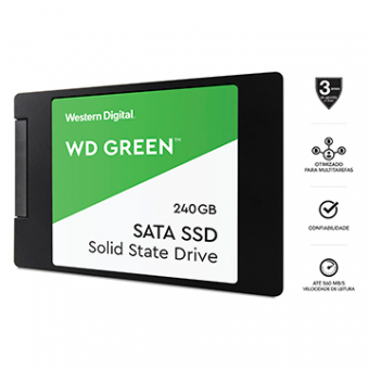 SSD WD Green 240GB 2,5