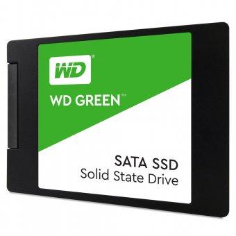 Ssd Wd Green 2.5´ 240gb Sata Iii 6gb/s Leituras 540mb/s e Gravações 465mb/s - Wds240g2g0a
