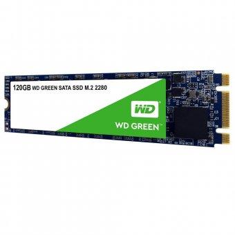 SSD M2 Western Digital Green 2280 120gb Leituras: 545mb/S - Wds120g2g0b