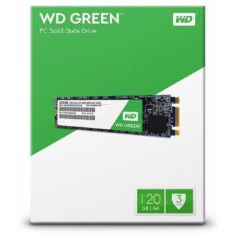 SSD Western Digital Green M.2 120GB WDS120G2G0B Leitura: 540MB/s E Gravação: 430MB/s