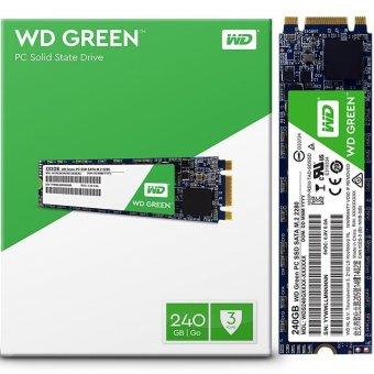 SSD Western Digital Green M.2 240GB WDS240G2G0B Leitura: 540MB/s E Gravação: 430MB/s