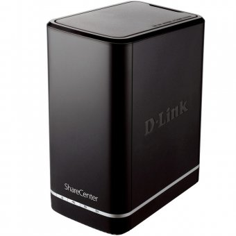 Storage ShareCenter 2-Bay Cloud Network Enclosure D-Link DNS-320L