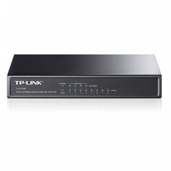 Switch 8P 10/100/1000 TP-Link TL-SG1008P