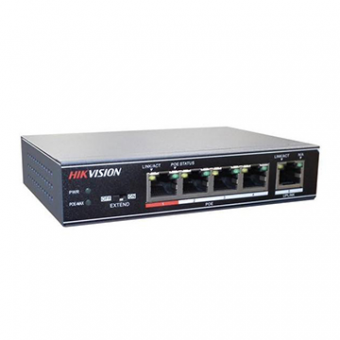 Switch Hikivision DS-3E0105P-E 5 Portas POE Ativo