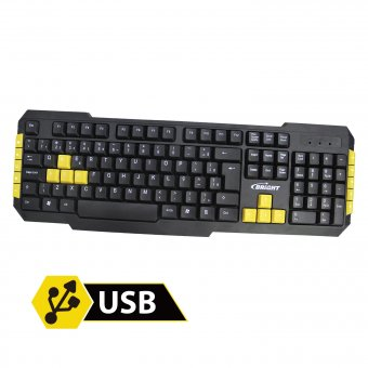 Teclado Gamer Bright 0183