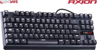 Teclado Gamer Mecanico AXION Branco SWITCH OUTEMU AXIMECOU89PTOBC
